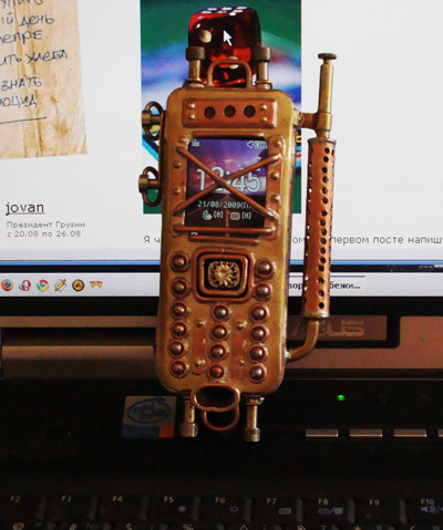 стимпанк телефон, стим панк телефон? steam punk phone